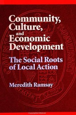 Community, Culture, and Economic Development: The Social Roots of Local Action - SUNY series, Democracy in American Politics (Hardback)