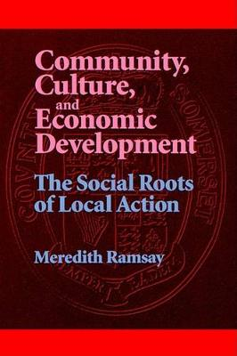Community, Culture, and Economic Development: The Social Roots of Local Action - SUNY series, Democracy in American Politics (Paperback)