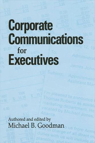 Corporate Communications for Executives - SUNY series, Human Communication Processes (Paperback)