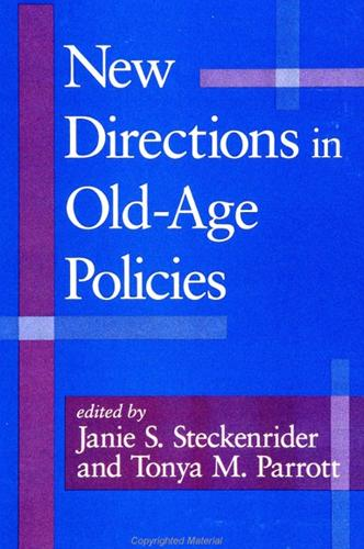 New Directions in Old-Age Policies (Paperback)