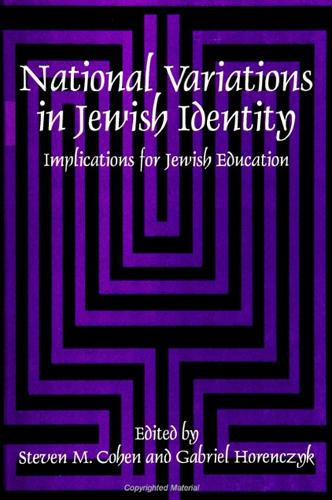 National Variations in Jewish Identity: Implications for Jewish Education (Paperback)