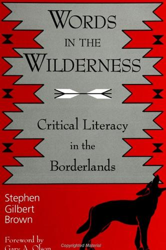 Words in the Wilderness: Critical Literacy in the Borderlands - SUNY series, INTERRUPTIONS:  Border Testimony(ies) and Critical Discourse/s (Paperback)