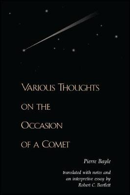Various Thoughts on the Occasion of a Comet (Hardback)