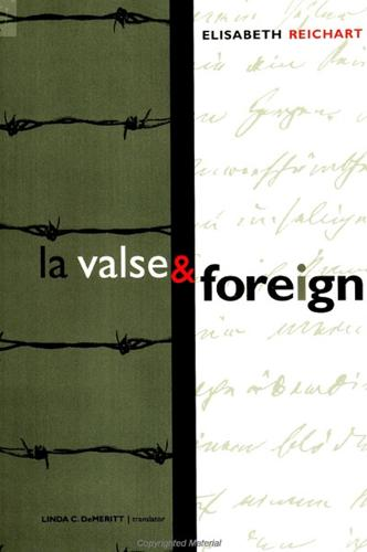 La Valse and Foreign - SUNY series, Women Writers in Translation (Paperback)