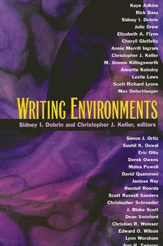 Writing Environments (Hardback)