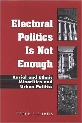 Electoral Politics Is Not Enough: Racial and Ethnic Minorities and Urban Politics - SUNY series in African American Studies (Hardback)