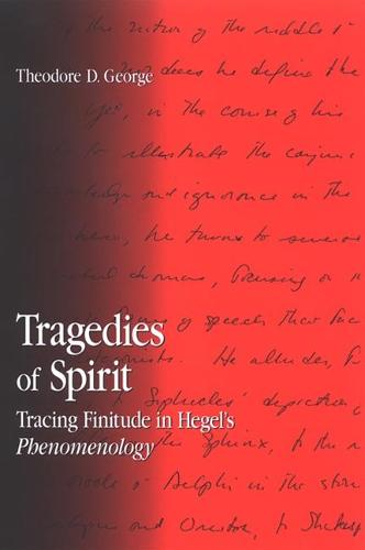 Tragedies of Spirit: Tracing Finitude in Hegel's Phenomenology - SUNY series in Contemporary Continental Philosophy (Paperback)