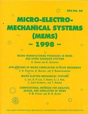Microelectromechanical Systems (Mems) - 1998 (Book)