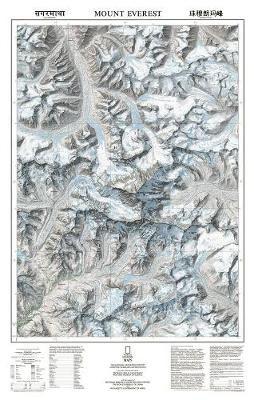 Mount Everest/himalayas, Tubed: Wall Maps Countries & Regions (Sheet map, rolled)