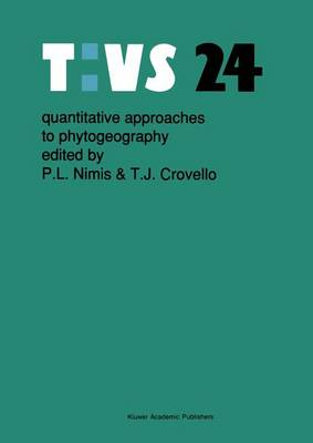 Quantitative approaches to phytogeography - Tasks for Vegetation Science 24 (Hardback)