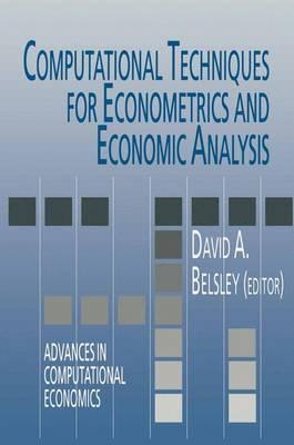 Computational Techniques for Econometrics and Economic Analysis - Advances in Computational Economics 3 (Hardback)