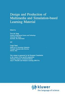 Design and Production of Multimedia and Simulation-based Learning Material (Hardback)