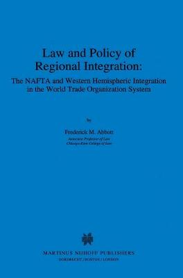 Abbott: Law and Policyof Regional Pa. (Paperback)