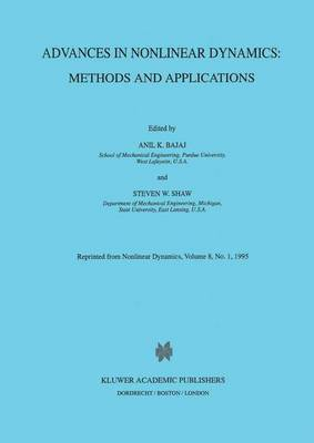 Advances in Nonlinear Dynamics: Methods and Applications: Methods and Applications (Hardback)