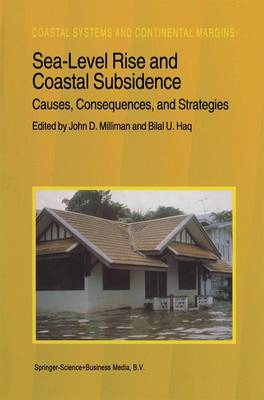 Sea-Level Rise and Coastal Subsidence: Causes, Consequences, and Strategies - Coastal Systems and Continental Margins 2 (Hardback)