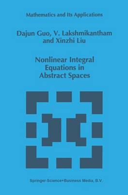 Nonlinear Integral Equations in Abstract Spaces - Mathematics and Its Applications 373 (Hardback)