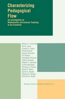 Characterizing Pedagogical Flow: An Investigation of Mathematics and Science Teaching in Six Countries (Paperback)