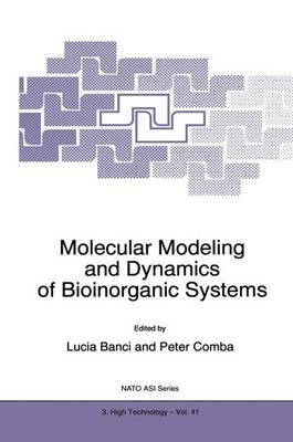 Molecular Modeling and Dynamics of Bioinorganic Systems - Nato Science Partnership Subseries: 3 41 (Paperback)