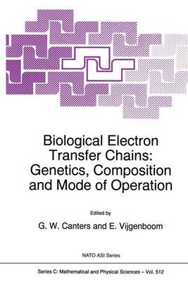 Biological Electron Transfer Chains: Genetics, Composition and Mode of Operation - Proceedings of the NATO Advanced Research Workshop, Tomar, Portugal, May 3-7, 1997 - NATO Science Series: C: Mathematical & Physical Sciences v. 512 (Hardback)