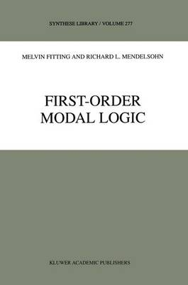 First-Order Modal Logic - Synthese Library 277 (Paperback)