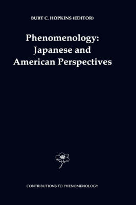 Phenomenology: Japanese and American Perspectives - Contributions To Phenomenology 36 (Hardback)