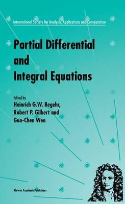 Partial Differential and Integral Equations - International Society for Analysis, Applications and Computation 2 (Hardback)