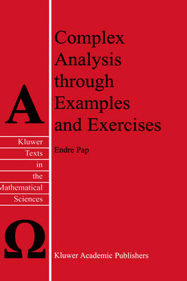 Complex Analysis through Examples and Exercises - Texts in the Mathematical Sciences 21 (Hardback)