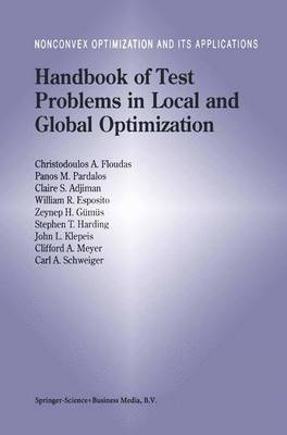 Handbook of Test Problems in Local and Global Optimization - Nonconvex Optimization and Its Applications 33 (Hardback)
