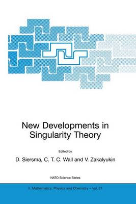 New Developments in Singularity Theory - NATO Science Series II 21 (Paperback)