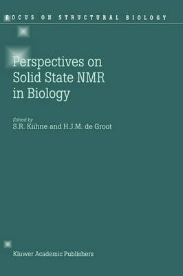 Perspectives on Solid State NMR in Biology - Focus on Structural Biology 1 (Hardback)