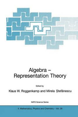Algebra - Representation Theory - NATO Science Series II 28 (Paperback)