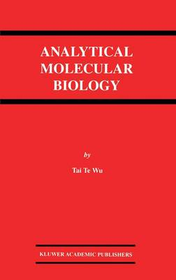 Analytical Molecular Biology (Hardback)