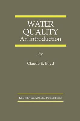 Water Quality: An Introduction (Hardback)