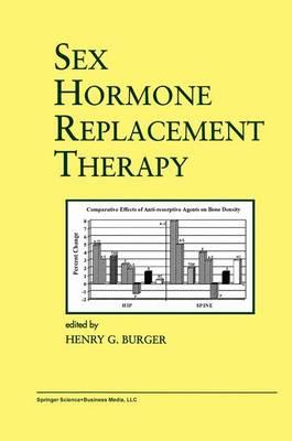 Sex Hormone Replacement Therapy - Endocrine Updates 8 (Hardback)