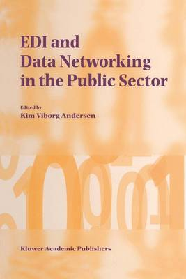 EDI and Data Networking in the Public Sector (Hardback)