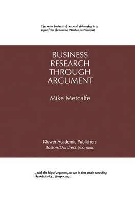 Business Research Through Argument (Hardback)