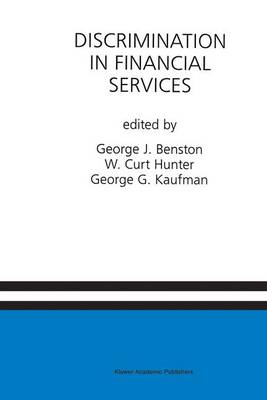 Discrimination in Financial Services: A Special Issue of the Journal of Financial Services Research (Hardback)