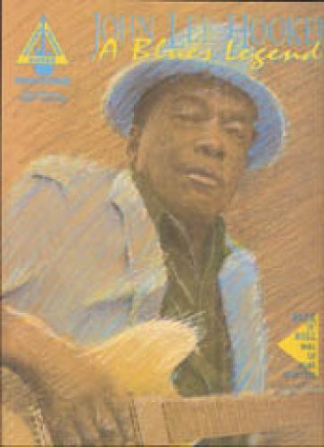 John Lee Hooker- a Blues Legend: With Notes & Tablature (Paperback)