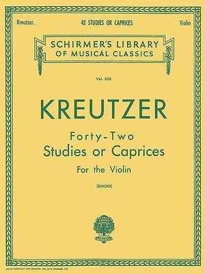 42 Studies or Caprices (Book)