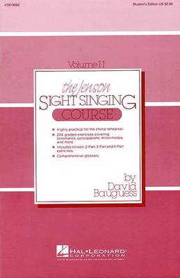 Jenson Sight Singing Course (Paperback)