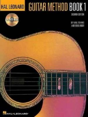 Hal Leonard Guitar Method Book 1 + Audio: Second Edition (Book)