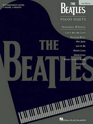 The Beatles: Piano Duets Intermediate (Paperback)