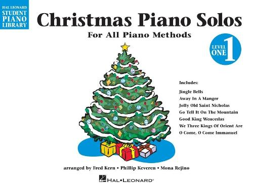 Hal Leonard Student Piano Library: Christmas Piano Solos Level 1 (Paperback)