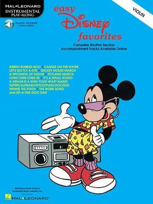 Easy Disney Favorites For Violin (Paperback)