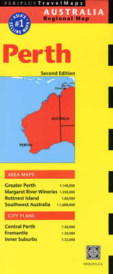 Perth Travel Map - Periplus Travel Maps (Sheet map, folded)