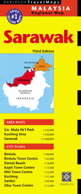 Sarawak Travel Map - Periplus Maps (Sheet map, folded)