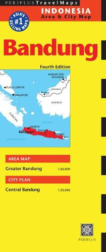 Bandung Travel Map Fourth Edition - Indonesia Regional Maps (Sheet map, folded)