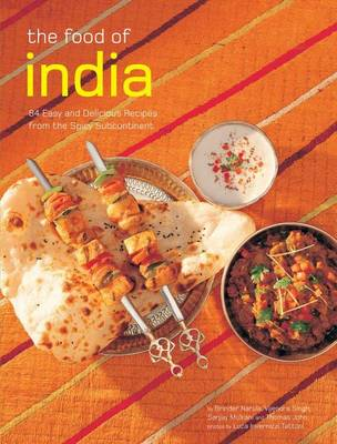Food of India: [indian Cookbook, Techniques, 84 Recipes] (Paperback)