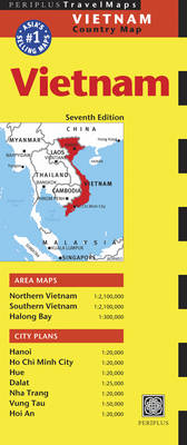 Vietnam Travel Map - Periplus Maps (Sheet map, folded)