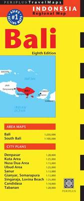 Bali Travel Map (Sheet map, folded)
